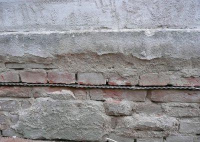 Provedení do cihlového zdiva